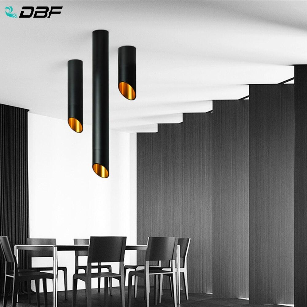 [DBF]LED نظام تعليق في السقف ضوء 7 واط 1 متر سلك معلق طويل مصباح أنبوبي الشكل المطبخ غرفة الطعام منصة مشروبات متجر بقعة ضوء 220 فولت التيار المتناوب