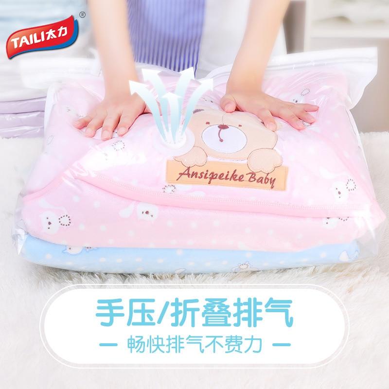 Bolsa de almacenamiento espaciosa, bolsa de compresión con orificio para escape de aire, funda de ropa, bolsa de almacenamiento, bolsa de compresión para chaqueta, bolsa de ropa