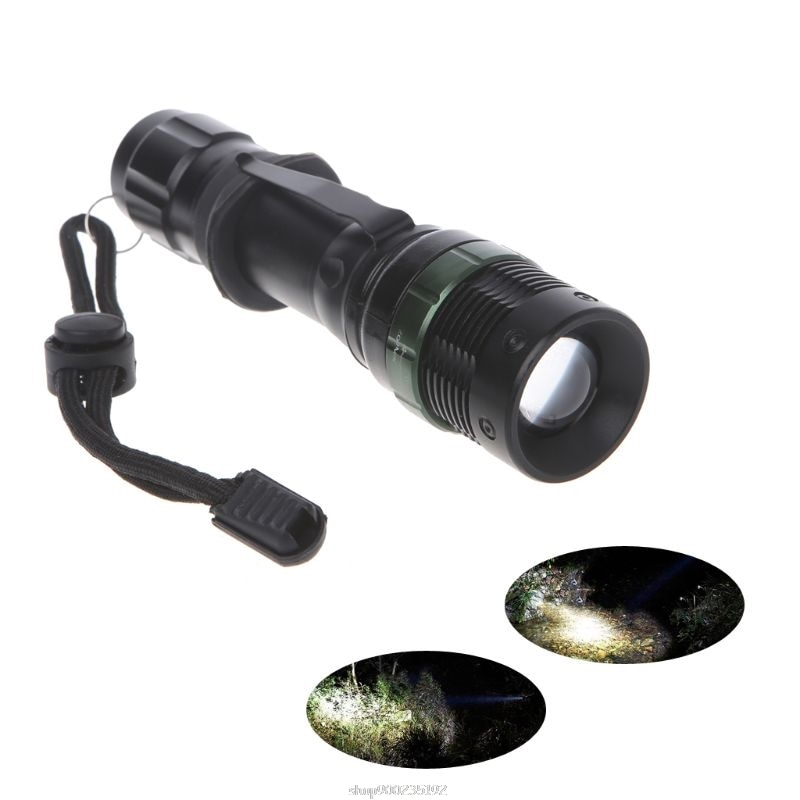 Ultrafire 5000lm Zoomable XM-L T6 latarka LED latarka Super jasna Ja22 21 Dropship