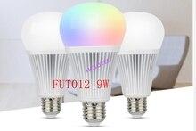 Milight 16 миллионов FUT012 E27 9 Вт RGB + CCT Светодиодный прожектор 110 В 220 В полноцветный пульт дистанционного управления умная лампа WiFi 2,4G Беспроводна...