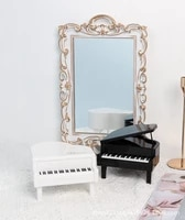 cute creative mini simulation piano photo props ornaments jewelry holiday gifts photography props decoration