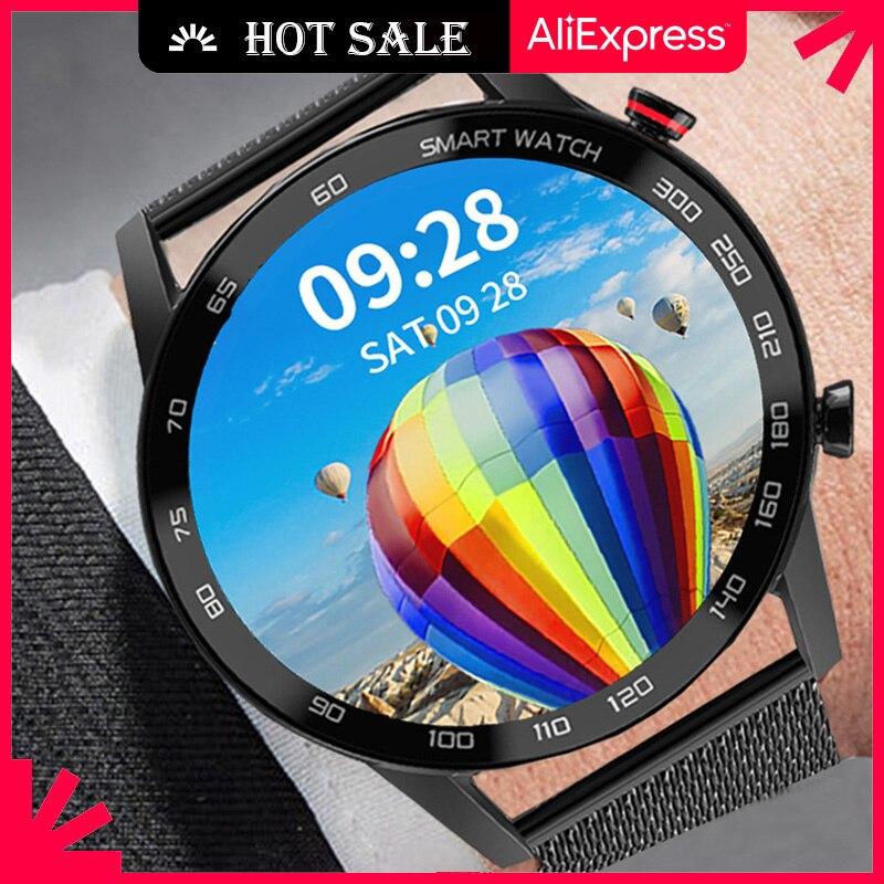 Ipbzhe Smart Watch Men 2021 IP68 Waterproof Business Smartwatch Bluetooth Call Reloj Inteligente Sma