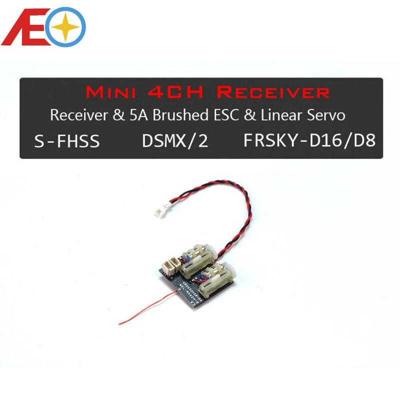 Aeorc Mini Receptor Micro Rx Serie Rx24x Receptor Integrado 1s 5a Esc Cepillado Con Servo Lineal 1 00pin 3p Enchufe Con Telem Brushless Motor Blade 130xmotor Brushless Motor Aliexpress