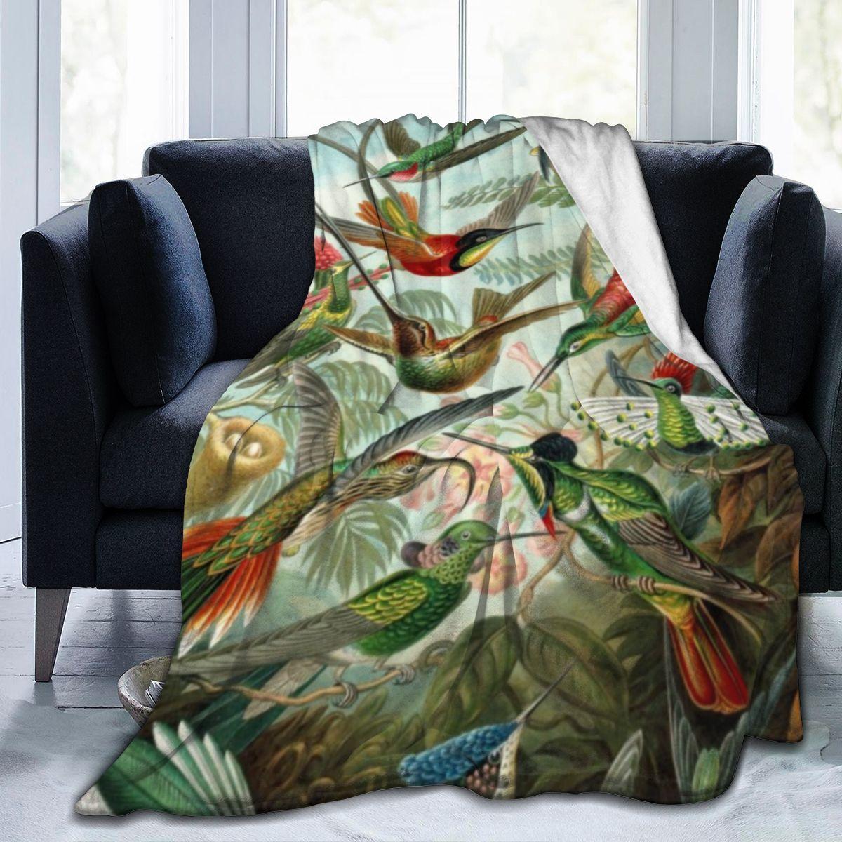 تحلق الطنان صوف ليف دقيق بطانية لينة رمي بطانية دافئة خفيفة الوزن الفانيلا بطانية ل أريكة سرير أريكة مكتب
