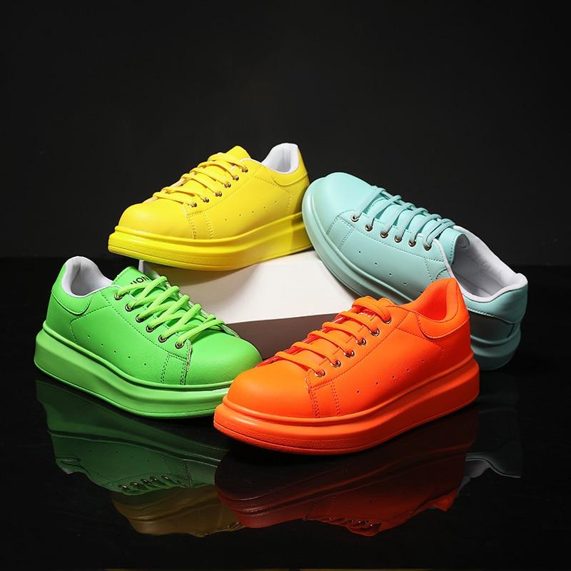 star-mismo-estilo-para-hombre-y-mujer-zapatos-deportivos-con-plataforma-verde-naranja-anaranjados-para-papa-mayor-par-de-zapatos-de-viaje