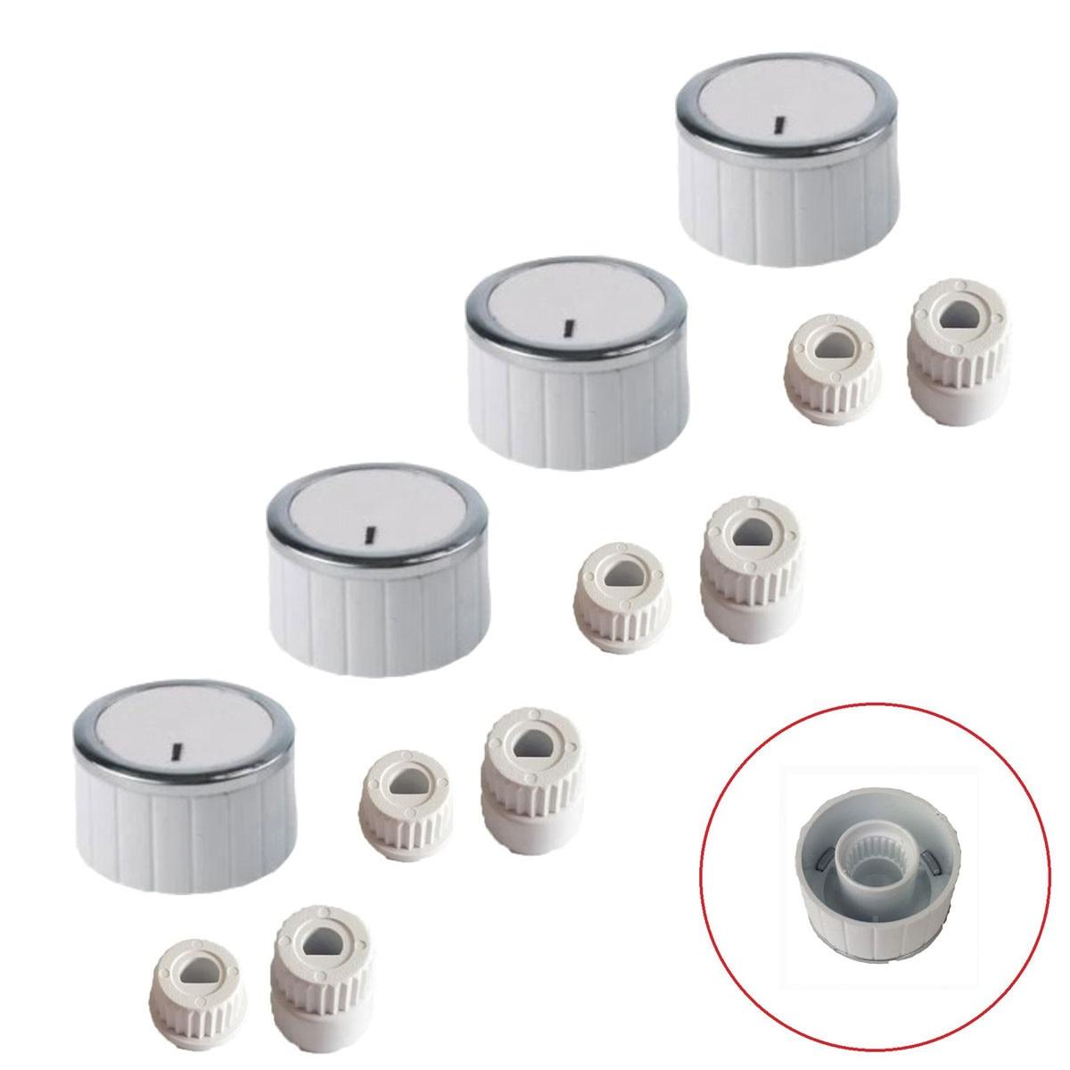 İtimat Button 4 pcs Team Flush Cooktop Button-TYPE 2 White HT-SÜ0013-21