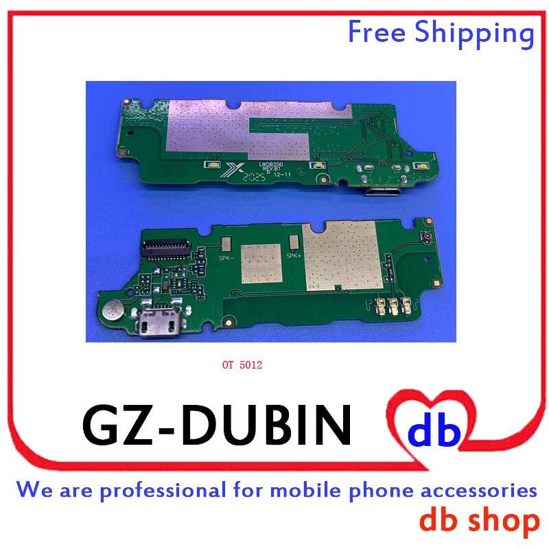Para Alcatel OneTouch PIXI 4 5012 5012G OT5012 OT 5012 conector de base Cargador Micro USB puerto de carga Cable flexible de micrófono Board
