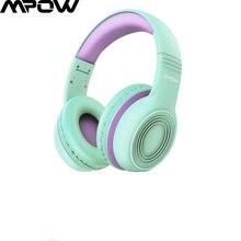 Mpow Bedrade Studie Muziek Stereo Hoofdtelefoon Voor Kinderen Over-Ear Kid Gaming Headset Met Microfoon Voor Pc/Laptop/Tabletten/Telefoons