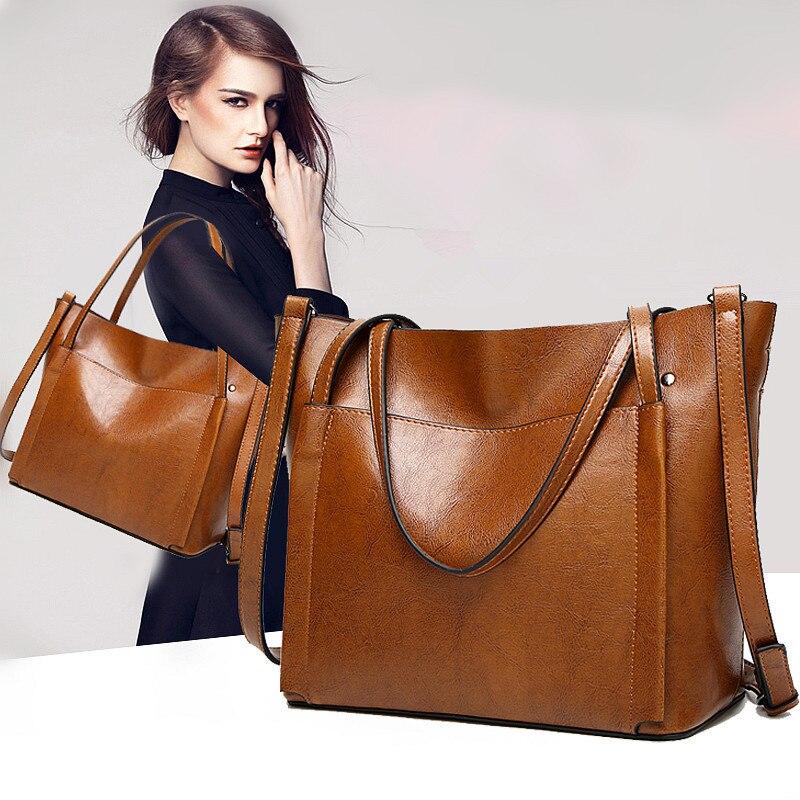 2020 nowa torebka europejska i amerykańska damska torba na ramię dużego ciężaru torba o dużej pojemności przekątnej kobiet torba lśniący połysk skóra duża torba