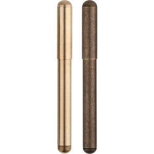 mojiang Students Handwriting Stationery School Fountain Pen Arts Smooth Ink With Box Threaded Cap Office Full Brass Calligraphy
