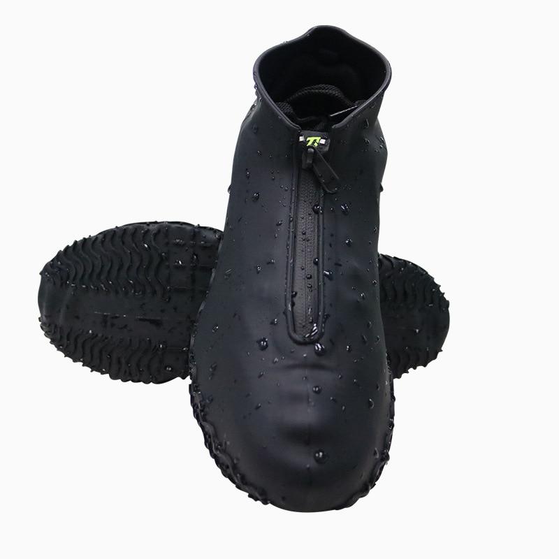 Нескользящий чехол для обуви, аксессуары, унисекс, многоразовые мужские дождевые Чехлы, женские, детские Чехлы для обуви, водонепроницаемые...