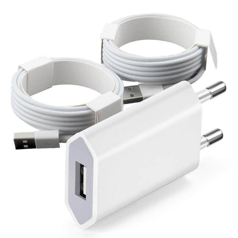 USB de 0,2 M Cable de datos para iPhone 6S 6 7...