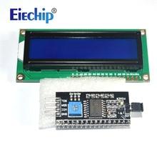 Lcd Display LCD1602 Module Blauw Scherm 1602 I2c Lcd Display Module HD44780 16X2 Iic Karakter 1602 5V voor Arduino Lcd Display