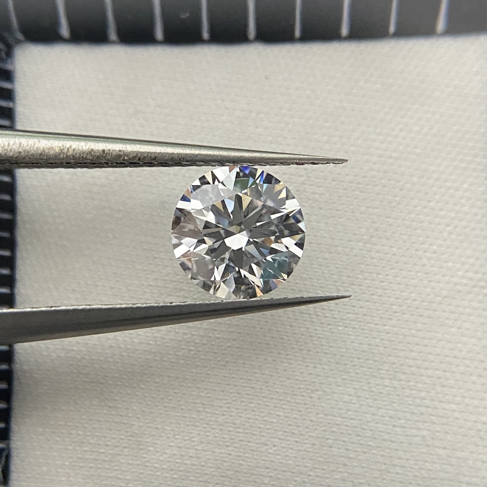 Meisidian 1 قيراط G VS1 ممتاز قطع أحجار كريمة مفكوكة 100% مختبر نمت CVD الماس
