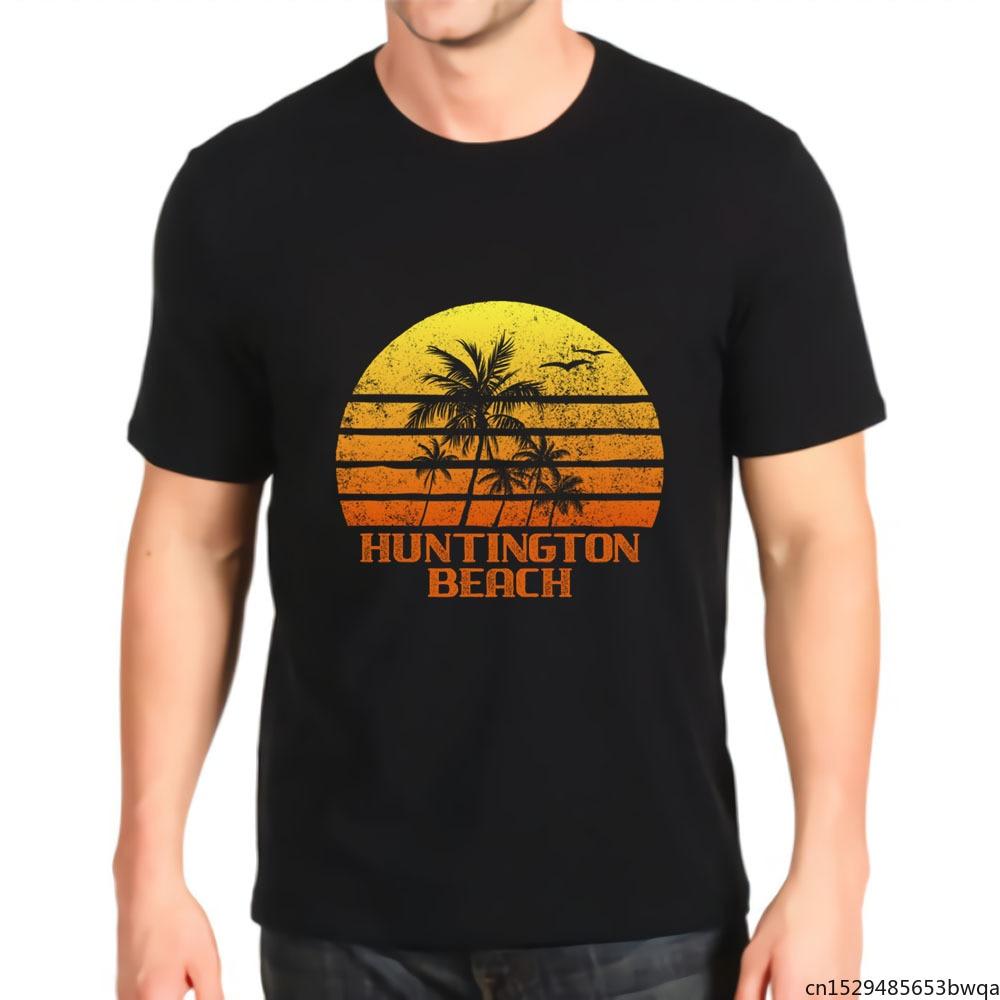 Camiseta con estampado Retro para hombre, camisa de Anime prémium, estilo Harajuku