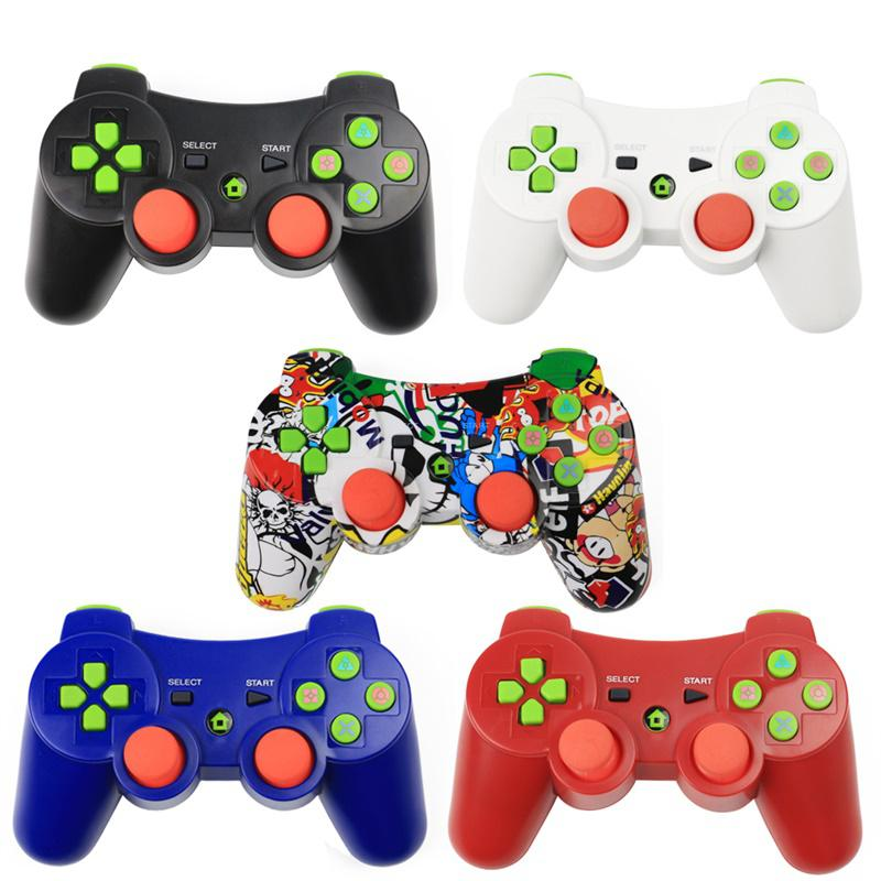 Wireless Bluetooth Gamepad joystick Dual Vibration Game For PS3 Game play station3 Gamepad 3 Joystick Gamepad PS3 Controller