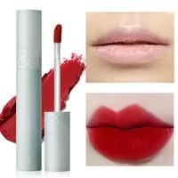 lip glaze 8 colors moisturizing waterproof long lasting brighten skin tone whitening non stick cup convenient lip makeup 1pcs