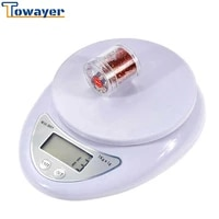 towayer 5kg1g 1kg0 1g portable digital scale led electronic scales postal food measuring weight kitchen led electronic scales
