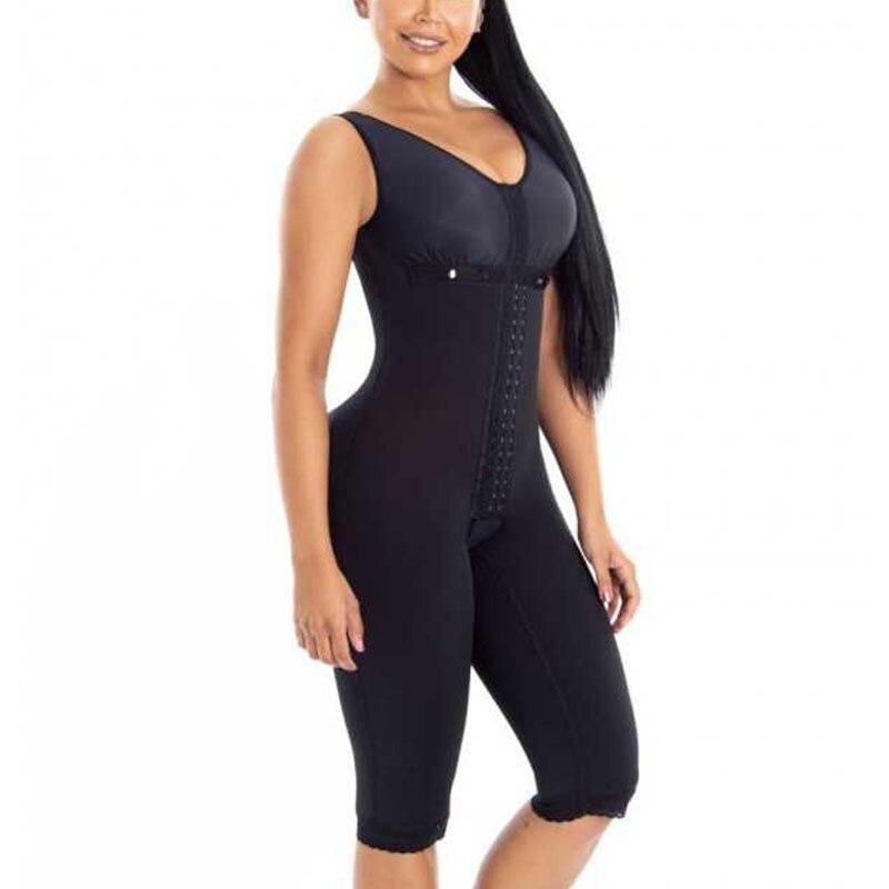 Women Bodysuit  Postpartum Tummy Control Shapewear Fajas Lace bbl post op surgery supplies faja colombiana mujer compression