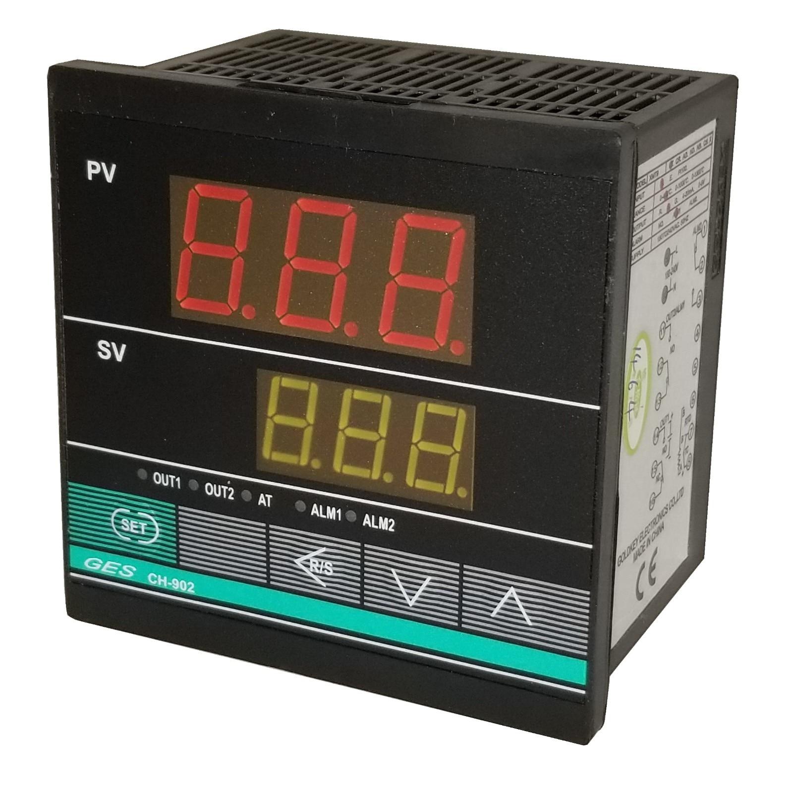 GDK XMT-9 XHD902 CHD902 K E PT100 pulso de voltaje 0-400 relé controlador de temperatura electrónico de carcasa corta-5 unids/lote