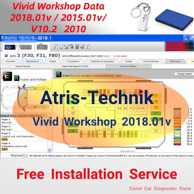 Vivid Workshop DATA 2018.01v Atris -Technik Parts Catalog Vivid Europe Repair Software Vivid 2018 2015 V10.2 Garage Automotive недорого