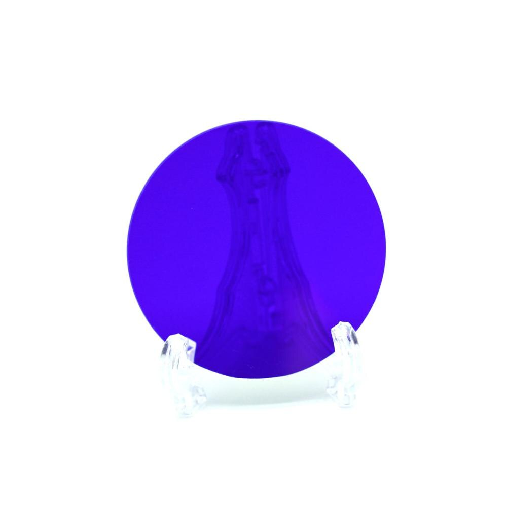 كل نوع 5 قطعة قطر حجم 8 مللي متر 470nm و 550nm مرشح باندباس ضيق الزجاج