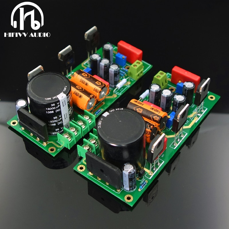 Комплект платы усилителя мощности класса A с электронным фильтром питания Toshiba 2SA5200 с большим выходом трубки