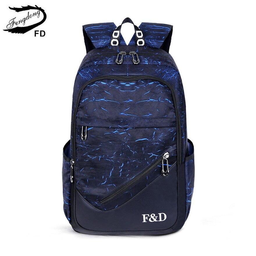 FengDong, mochilas escolares para niños, mochila para ordenador portátil de 15,6 pulgadas, mochila para escuela de gran capacidad a prueba de agua para niños, mochila de viaje antirrobo para regalo