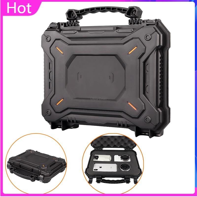 Funda protectora de cámara de pistola táctica portátil impermeable de seguridad de pistola caja dura militar de caza Airsoft estuche de almacenamiento de pistola
