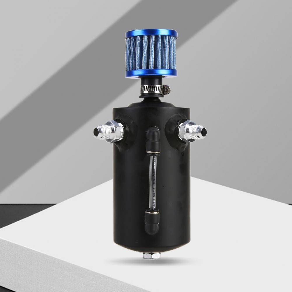 Contenedor de combustible Universal de aluminio, lata de captura de aceite Allo...