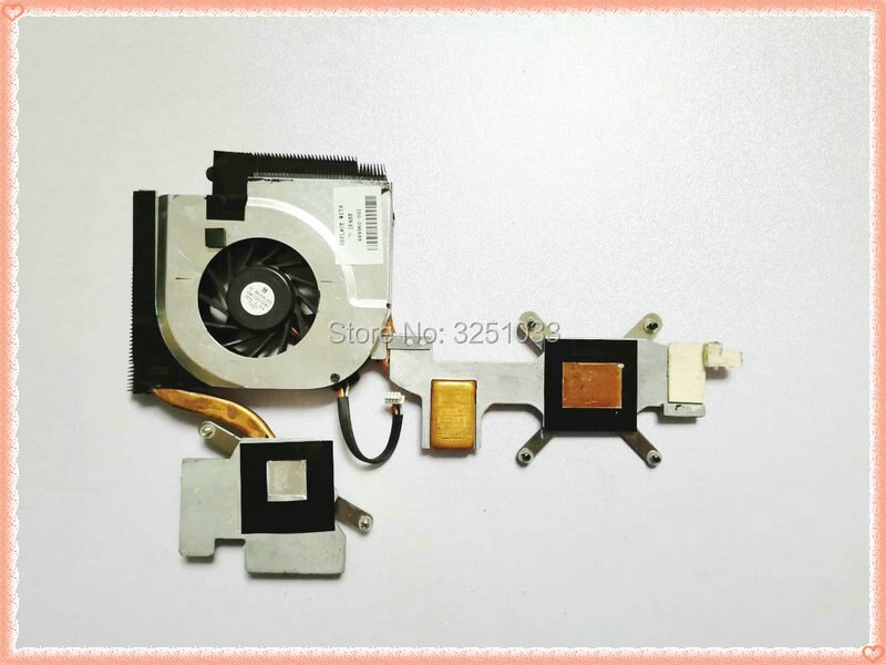 Disipador de calor Original para ordenador portátil, ventilador de refrigeración, Enfriador de cpu para HP DV6500 DV6700 DV6800 y CPU 449960-001