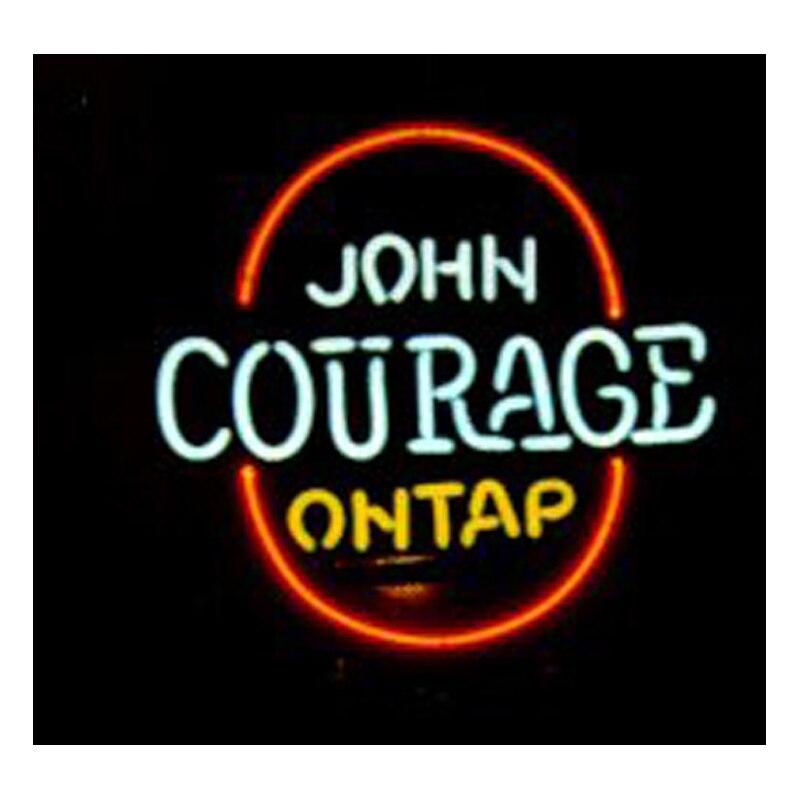 JOHN desire ON TAP-علامة نيون ، أنبوب زجاجي ، صناعة يدوية ، شريط بيرة ، KTV ، متجر حفلات ، إعلانات ، 16 بوصة × 16 بوصة