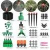 MUCIAKIE-Kit d'arrosage automatique pour tuyau de jardin Irrigation goutte-à-goutte tuyau de 1/4 brouillard avec contrôleur réglable