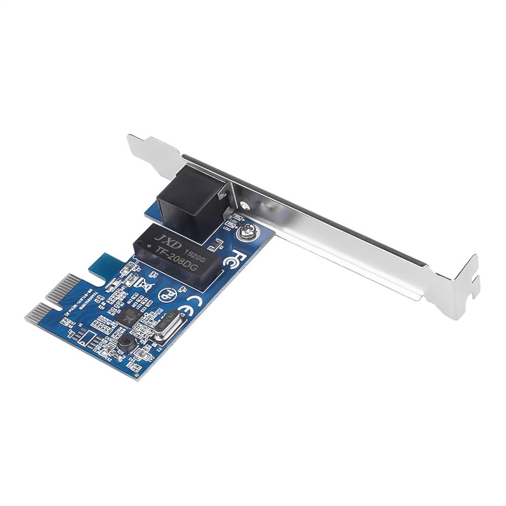Kebidu 1PCS 100 0Mbps Gigabit Ethernet 10/100/100 0M RJ-45 PCI Express PCI-E Netzwerk karte LAN Adapter Konverter Hohe qualität