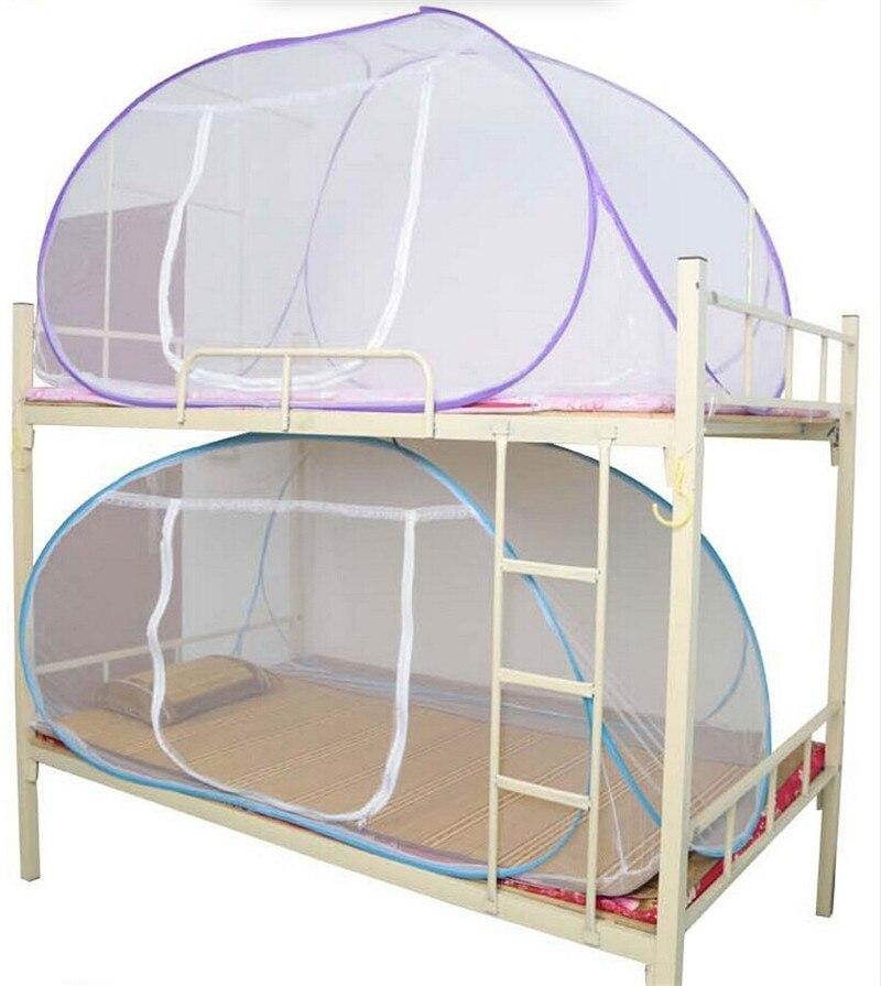 ناموسية سرير بطابقين ، وردي ، أزرق ، بنفسجي ، 100-180 سنتيمتر ، للبالغين