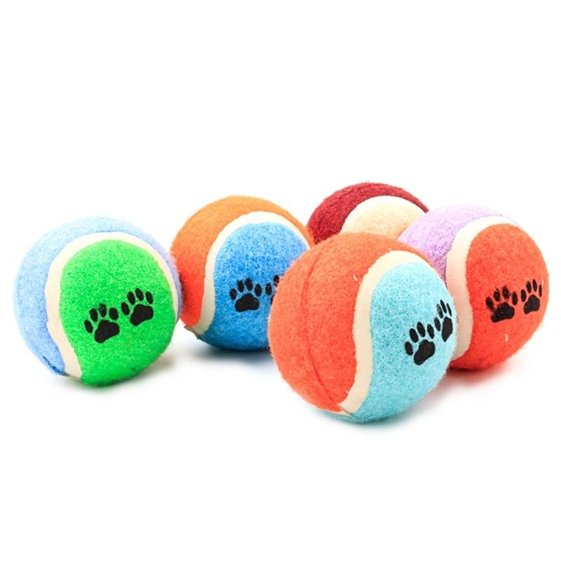 1 шт. резиновая игрушка для домашних животных тренировочный мяч Забавный след игрушка для домашних животных кошка собака щенок собака Perro Но...