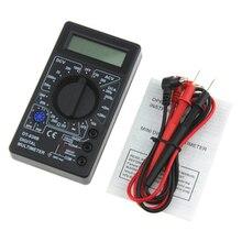 750/1000V الفولتميتر ، مقياس التيار الكهربائي ، أوم ، جهاز اختبار رقمي عالي الأمان ، محمول ، رقمي متعدد ، AC/DC LCD ، احترافي عدادات مترية متعددة    -