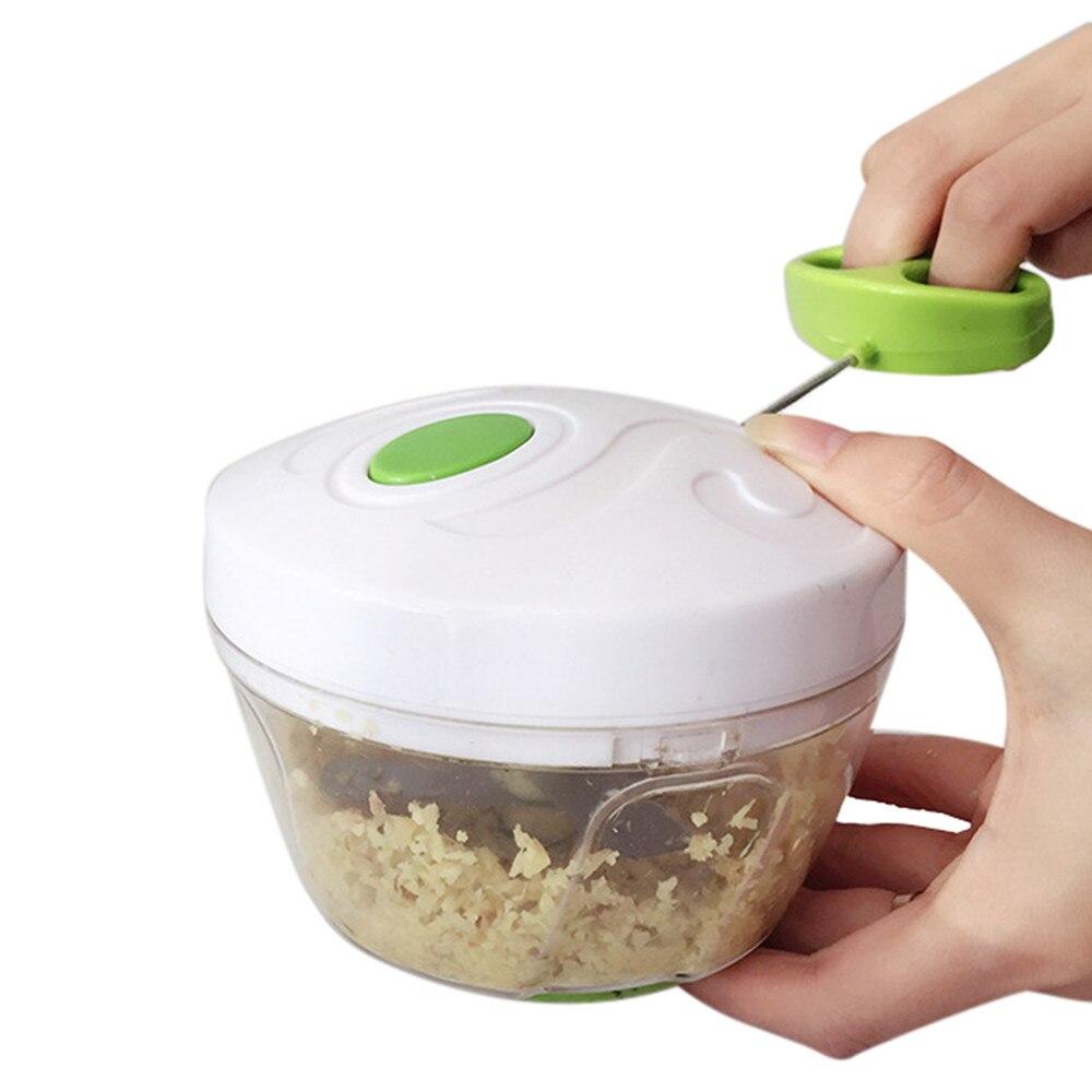 Cortador en espiral para comida, potente mezclador Manual Chooper, licuadora para cocina, cuchillo, cocina, aparato cortador de cocina