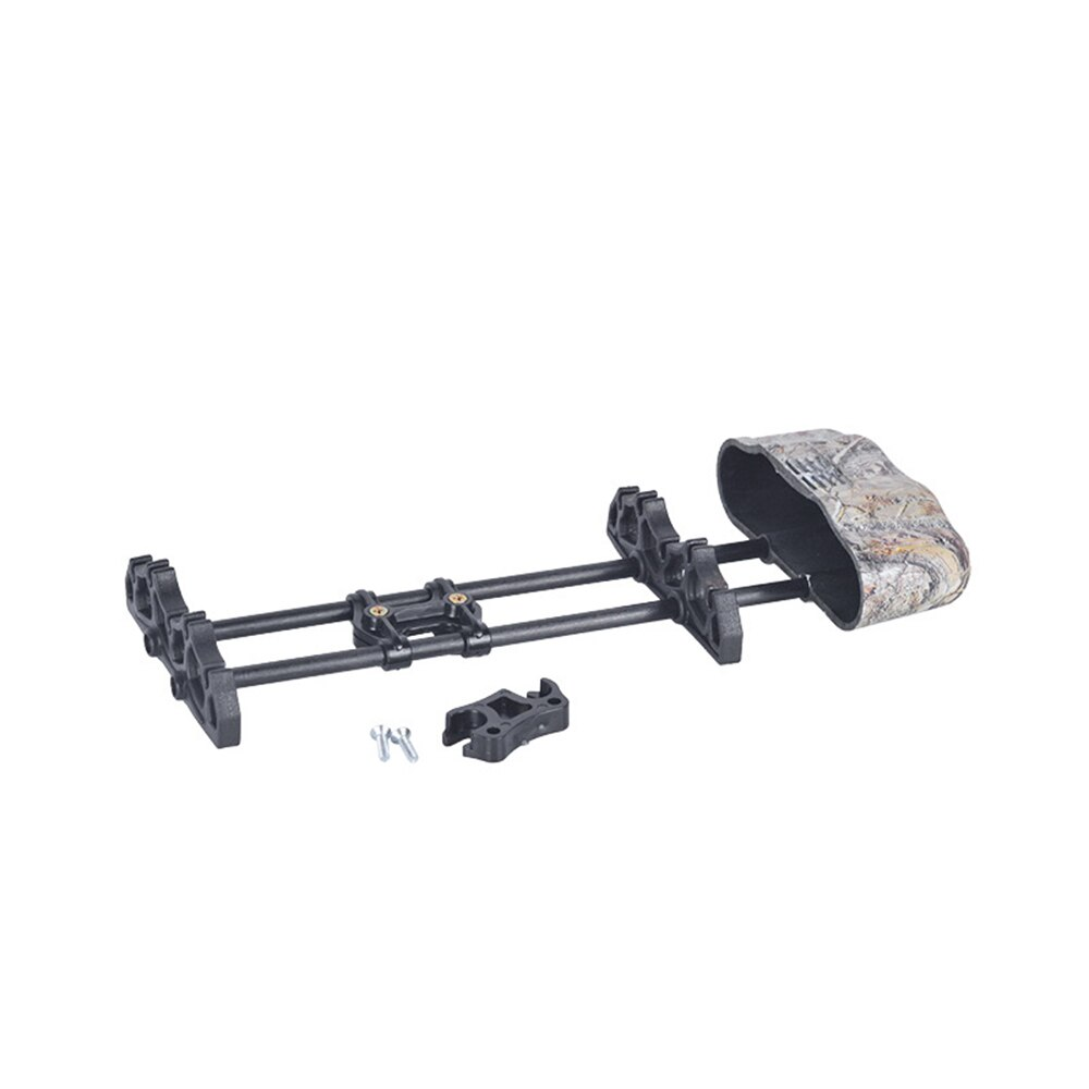 1x soporte de tiro con arco flecha aljaba montaje compuesto arco caja de liberación rápida