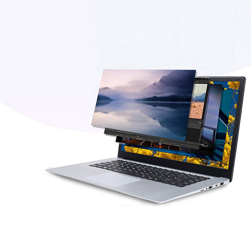 15.6-inch Silver Ultra-thin Laptop CPU Intel Celeron 8350 Beautiful Durable And Practical Multifunctional Laptop
