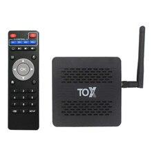 TOX1 Amlogic S905X3 Android 9,0 ТВ коробка, 4 Гб оперативной памяти, 32 Гб встроенной памяти, ТВ приемники 2,4G 5G Wi Fi Bluetooth 1000 м LAN 4 к HD декодер каналов кабельного телевидения компьютерной приставки к телевизору и UGOOS X3 PRO