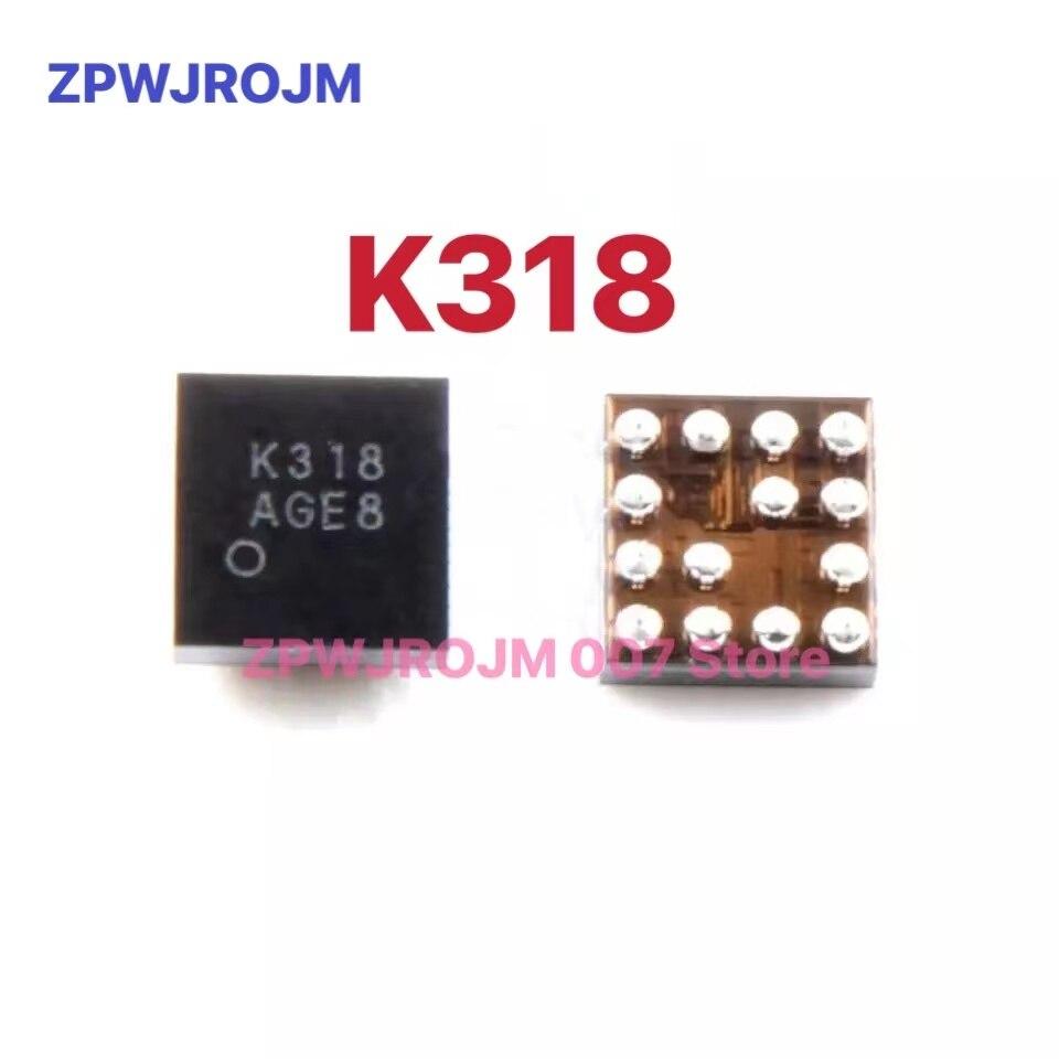 2 pz/lotto K318 nuovo originale per hongmi 4A note4x audio IC 14pin