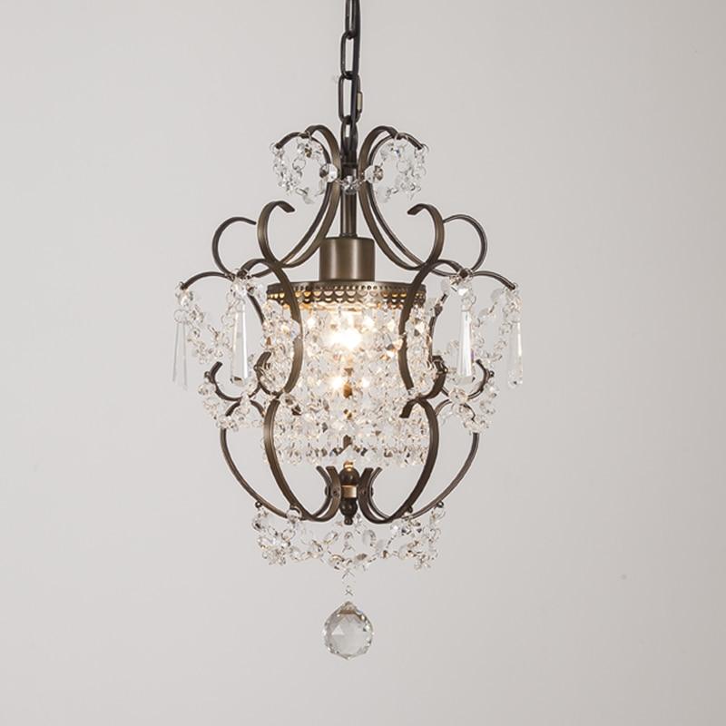 Crystal Chandelier Hanging Lamp Ceiling Chandeliers Lights Fixture for Dining Kitchen Study Bedroom Indoor Lighting Lustures
