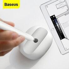 Soporte Baseus Dock para lápiz Apple 2 funda protectora de silicona suave para iPad Pro 10,5 12,9 lápices de gel Touch Pen Tip