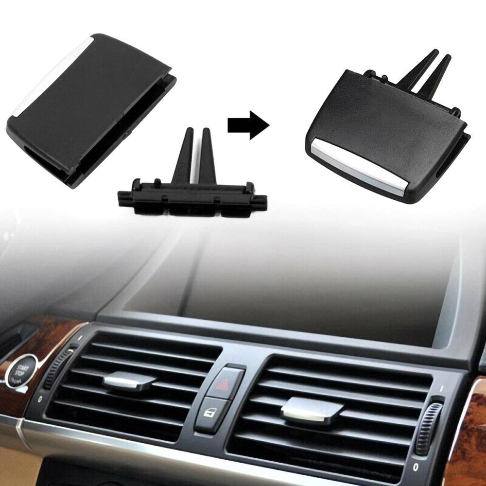Аксессуары для салона автомобиля спереди/сзади центр A/C кондиционер вентиляционное отверстие Tab зажим Ремонтный комплект для BMW X5 E70 X6 E71