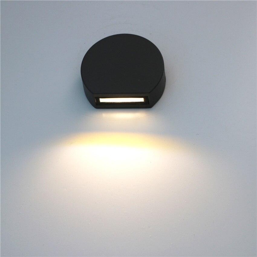 Светодиодный настенный светильник IP65 водонепроницаемый настенный светильник для помещений светодиодный светильник для лестницы AC85-AC265V светильник для коридора прикроватный настенный светильник s BL6005