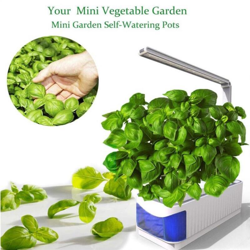 Smart Indoor Herb Garden Planter Kit LED Grow Light Hydroponic Growing Multifunction Desk Lamp Plant Flower Grow Lamp enlarge