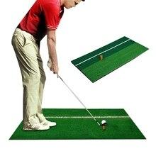 2020 Indoor Golf Matte Ausbildung Schlagen Pad Praxis Gummi Gras Matte Basis Grün Golf Training Tools Hinterhof 30x60cm