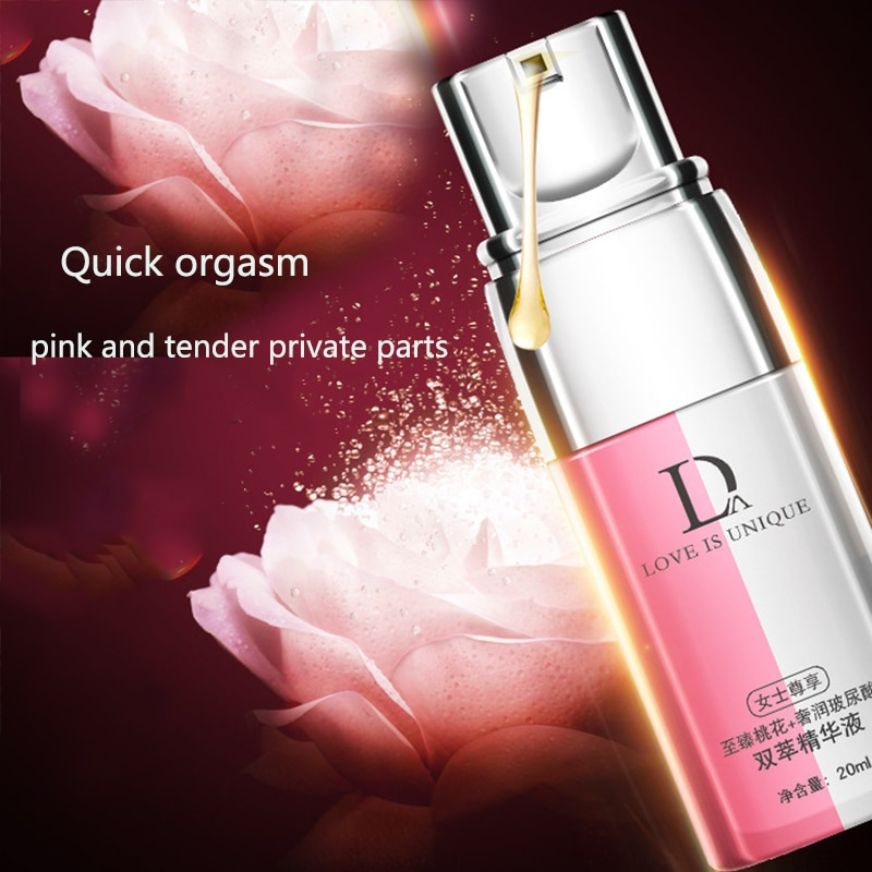 Du Ai Peach Blossom Double Extract Essence for Women Pleasure Enhancer Spray Hyaluronic Acid Pleasure Gel Orgasm