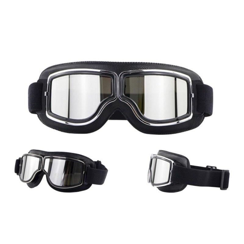 Gafas de Moto de Motocross, casco, Moto Retro, Moto de cross para exteriores, montar en bicicleta Retro Para gafas de sol, gafas Vintage todoterreno, nuevo